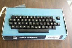 Vintage Harris 8620 Computer Keyboard Terminal Controller