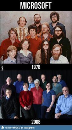 Microsoft: 1978 vs 2008
