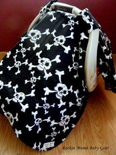car seats, seat canopi, skull car, infant carrier