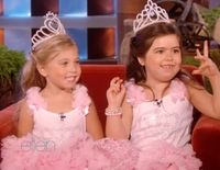 Sophia Grace & Rosie at their book signing