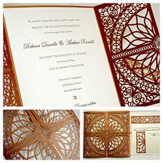 Wedding invitation by Luscious Verde #Wedding #Invite #Ideas #Inspiration