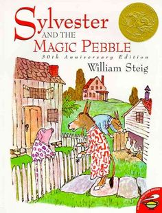 """Sylvester & the Magic Pebble"" by William Steig william steig, preschool theme, magic pebbl, coop preschool, children book"