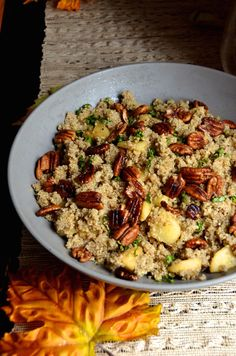 Spiced Apple Quinoa