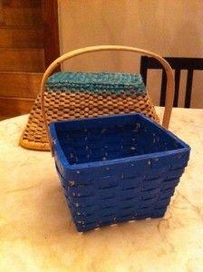 Plasti Dipped baskets!