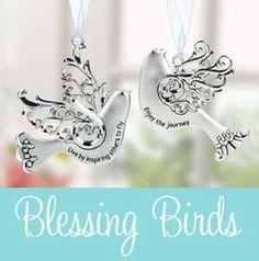 Ganz Blessing Birds Ornaments
