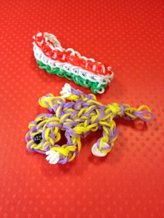 A Bandaloom gecko and Mexican flag for Cinco de Mayo!