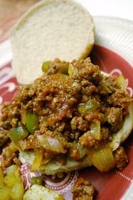 """""""Point-less"""" Meals: Sloppy Joes"""