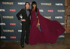 #ZacPosen and #NaomiCampbell pose during a photo call for Australian TV show, 'The Face of Australia' at #CarriageWorks on November 30, 2013 in #Sydney, Australia
