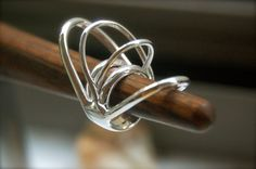 spiral ring.