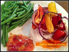 Healthy Meals in Minutes: Tuna and Salsa #recipes #inspireothers