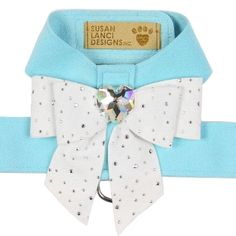 Tiffy's Gift Crystal Tail Bow Dog Harness