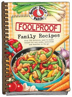 The best recipes are those shared by Mom, a sister, a friendly neighbor or a best friend, don't you think? Well, that's just what you'll find in Gooseberry Patch Foolproof Family Recipes...a whole cookbook full of can't-miss, tried & true recipes!