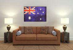 Vintage Australian Flag by PixelPerfect12 on Etsy, $18.00