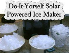 Do-It-Yorself Solar Powered Ice Maker