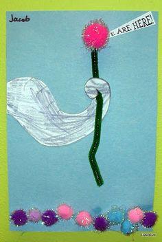 Horton Hears a Who craft.  Dr Seuss