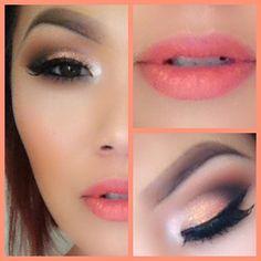 Makeup Prom makeup Homecoming makeup ❤ summer look