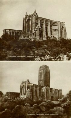 building Liverpool cathedral