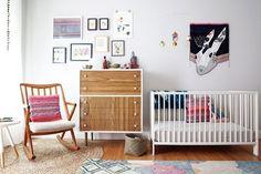 Vivian's Vivacious Nursery — Nursery Tour | Apartment Therapy
