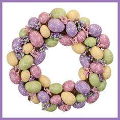 Easter Egg Wreath :)