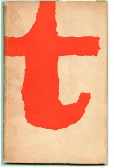 cover of experimenta typographica by Willem Sandberg (1956)