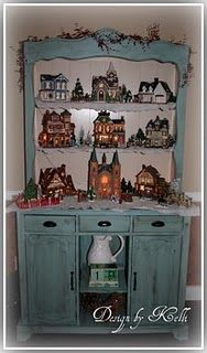 Christmas Decor Ideas- Village