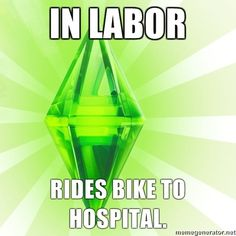 The Sims 3 logic...even more illogical than Sims 2 in most ways ;)