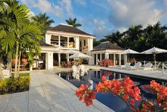 Round Hill, Montego Bay, Jamaica.  Classic Luxury. Villas and Hotel.