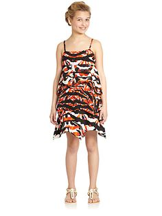 DKNY - Girl's Vera Printed Dress - Saks.com