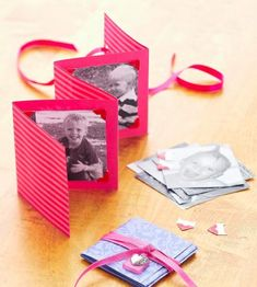 Make a photo card for a special Valentine's present. Wouldn't a very special deployed daddy LOVE this?!!