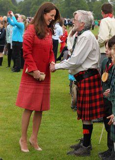Kate Middleton - Prince William and Kate Middleton Visit Scotland