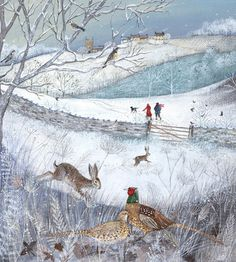 'Walk in the Snow' by Lucy Grossmith