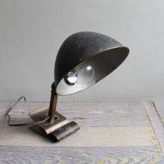industrial lamp.