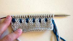 Slip Stitch colorwork knitting