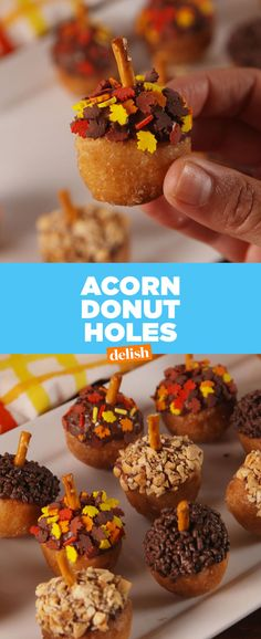 These Acorn Donut Holes Win Fall
