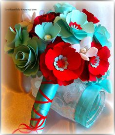 Gorgeous Paper Bouquet!