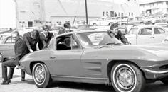 Beach Boys and a 1963 Corvette Split Window Coupe