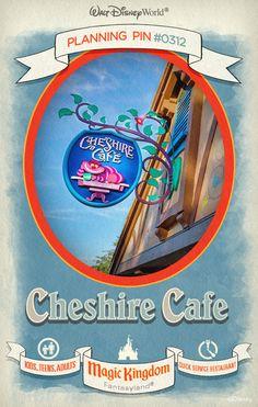 Walt Disney World Planning Pins: Cheshire Cafe