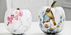 15 DIY Decoupage Pumpkins For Fall