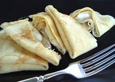 Crepes with Cannoli Cream ~ Fresh fruit with these crepes would be outstanding!