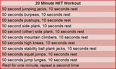 20 Minute HIT Workout