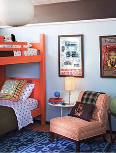 perfect boy room color combo