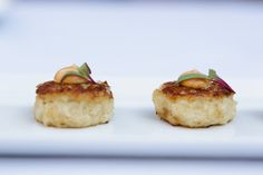 Miniature Crabcakes with chili-lime aioli  Photography by Critsey Rowe