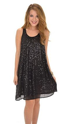 This party dress isn't skimping on any shine! $48 at shopbluedoor.com