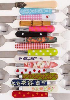 The cutest cutlery set.