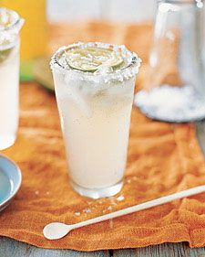 Fresca Skinny Margarita...Get yourself a festive 16 oz glass and add:   1 1/2 oz of premium blanco tequila (or to taste, depending on how hard your day has been  ).   1/2 oz of lime juice (fresh, lime shaped container or bottled)   Fill glass with fresca. Stir!
