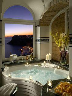 Spa View, Isle of Capri,Italy.