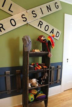 Cute toddler boy room ideas     loving this for Alex's room. papa could so make this