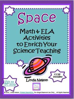 Seven Common Core math and ELA activities that will support your science teaching by strengthening your students' control of vocabulary about space.    $