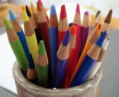 How To Study Your Bible With Colored Pencils - perfect for parents & kids!