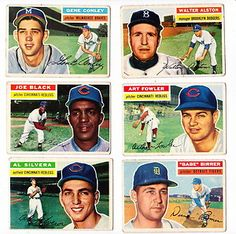 Brooklyn Dodgers TOPPS BASEBALL CARDS